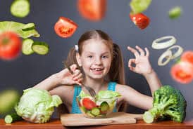 Vegetables For Your Children's Diet